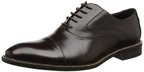 Bertie Herren Radius Oxfords Braun (Brown Leather)
