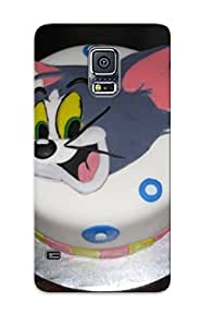 Hard Plastic Galaxy S5 Case Back Cover, Hot Tom Jerry Cake Decorating Munity Cake We Bake Case For Christmas's Perfect Gift