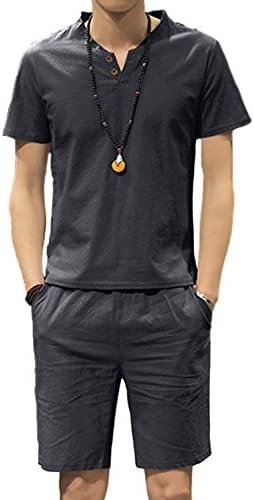 D'autres hauteurs 5色 5サイズ メンズ ワントーン カラー サテン シャツ 半袖 ハーフパンツ セット