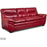Simmons Upholstery Soho Bonded Leather Sofa