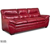 Simmons Upholstery Soho Bonded Leather Sofa