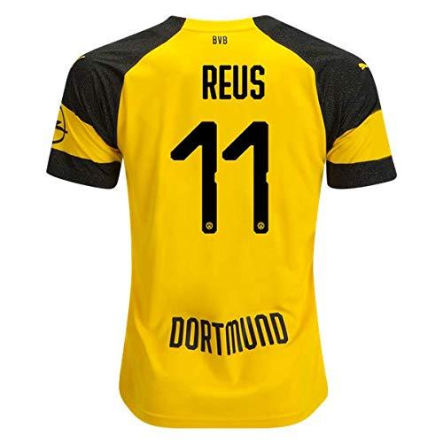 8e62fe119 North-V Reus Borussia Dortmund 2018-2019 Home Jersey Men's Color Yellow  Size L