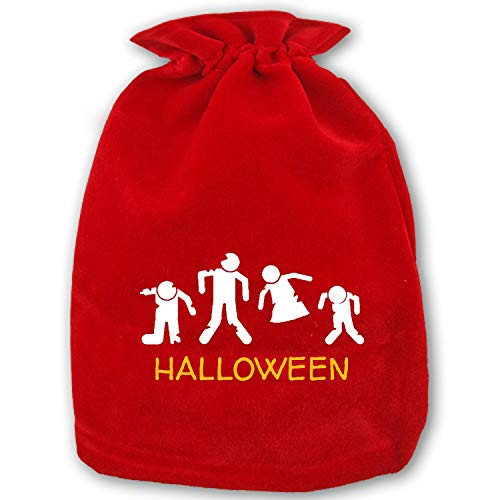 Halloween Zombie Baseball Cap Christmas Gifts Sack Bags,Big