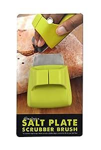 Charcoal Companion sal del Himalaya placa, soporte, espátula y libro de recetas)