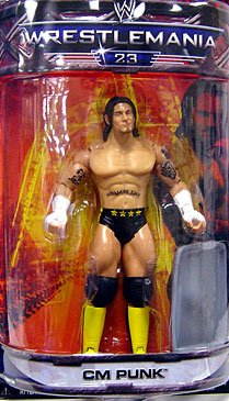 WWE Summer Slam Road to Wrestlemania 23 Exclusive Series 3 Action Figure CM Punk