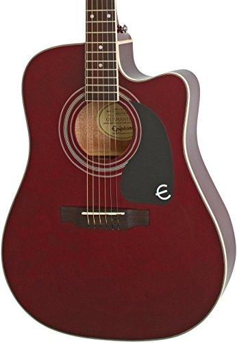 [해외]epiphone 프로-1 울트라 솔리드 탑 어쿠스틱일렉트릭 기타 시스템 초보자를 위한 글로스 와인 레드 / Epiphone Pro-1 Ultra Solid Top AcousticElectric Guitar System for Beginners Gloss Wine Red
