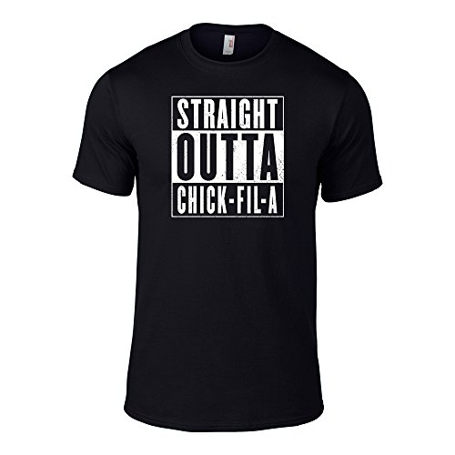 Straight Outta Chick Fil A T Shirts Adults Small