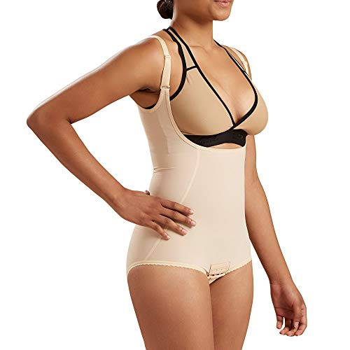 (Marena Recovery Panty-Length Compression Girdle with High-Back, Step 2 (Pull on))