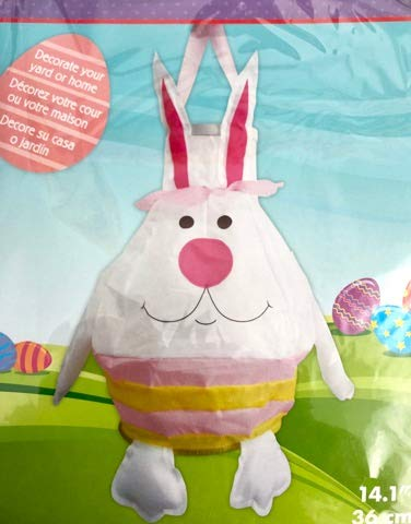 Occasions 3D Easter Bunny Hanging Wind Spinner Windsock 14