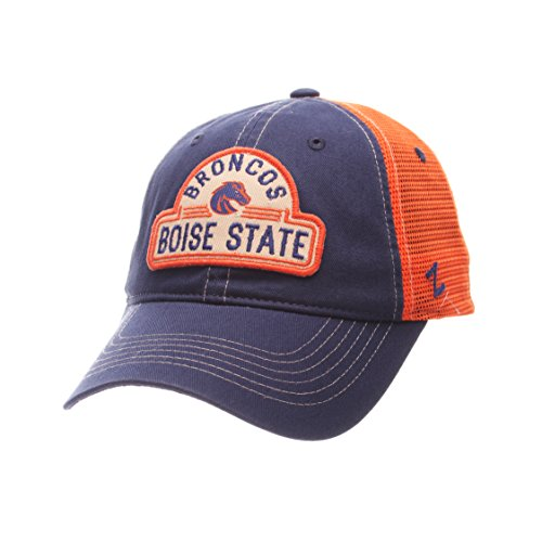 NCAA Boise State Broncos Adult Men's Route Relaxed Cap, Adjustable Size, Team - Hat State Boise