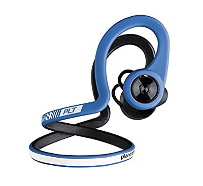 Plantronics Backbeat Fit Training Edition Stable Waterproof Wireless Sport Headphones with Access to Interactive Audio Coaching