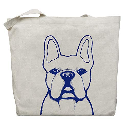 French Bulldog Tote Bag - Benny the Frenchie - by Pet Studio Art ()