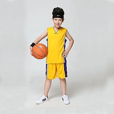 0e27568c963 Buy Generic Purple, L : Blank Basketball Jersey for Kids Training Shirt  Shorts Set Children Sports Suit School Basketball Team Uniform Boys Running  Wear ...