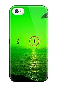 Excellent Design X Files Wallpaper Phone Case For Iphone 4/4s Premium Tpu Case