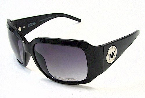 85e51384dfe0 Image Unavailable. Image not available for. Colour: MICHAEL KORS M2682S Sunglasses  Black 001 Dominican Shades