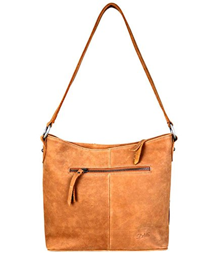 West Hide on Delila Top Hobo Montana Colors Leather amp; Brown Zip 3 Hair d4YqUqX