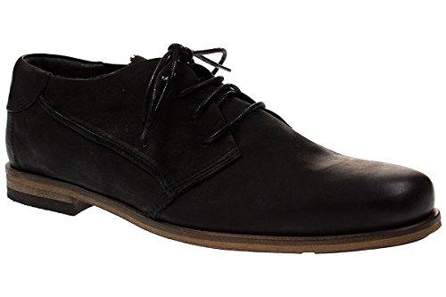 Hub MATTFIELD N80 - Herren Schuhe Schürer Halbschuhe - 016-black