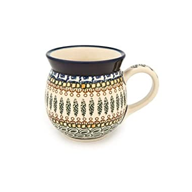 Polish Pottery Tuscany Bubble Mug