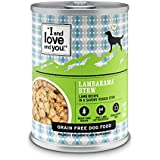 """""""I And Love And You"""" Lambarama Stew Grain Free Canned Dog Food, 13 Oz (Pack Of 12)"""