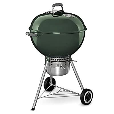 Weber 14401001 Original Kettle Premium Charcoal Grill, 22-Inch, Black by Weber-Stephen Products LLC