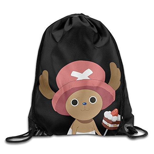 Bieshabi One Piece Tony Drawstring Backpacks Sack Bag Bags