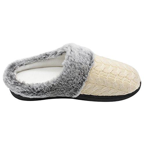 Zapatillas Calido C Mujer de Memoria SunShineHome Espuma qwC6xHpxU