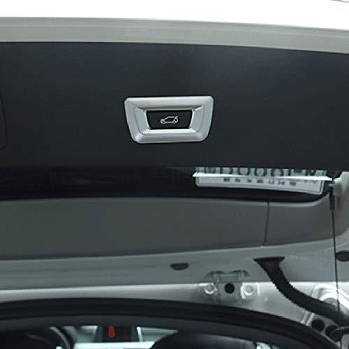 Estilo ABS Etiqueta Engomada del Ajuste De Cubierta De Botones De Puerta Trasera De Cromo XZANTE Para BMW X1 F48 X3 F25 X4 F26 X5 F15 X6 F16 F30 GT 3 5 7 Series F10 F07 Coche
