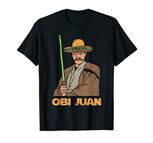 Obi Juan Funny Cinco De Mayo Mexican Movie Nerd Lover Funny T-Shirt ()