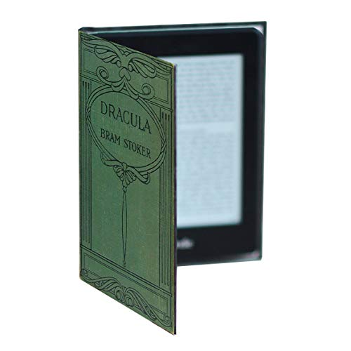 Kindle Paperwhite Case (inc all new versions) Book Cover Style (Bram Stoker