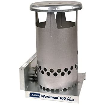 L B White Portable Gas Heater Workman 100k Btu Natural