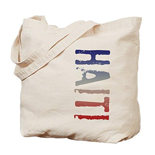 CafePress–Haití–Gamuza de bolsa de lona bolsa, bolsa de la compra