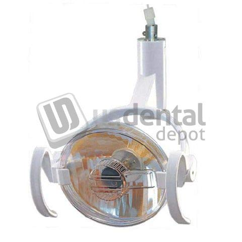 PEGASUS - #2 Halogen Dental Lamp Complete - Round - Automatic - # CX04 (Does not incluide The Arm) [ China ] 104978 Us Dental Depot