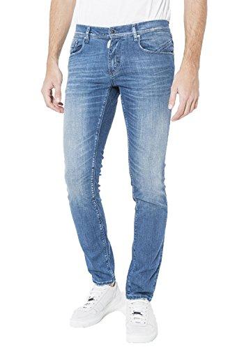 Cotone Uomo Blu Jeans Antony Mmdt00125fa750019blue Morato IqEFEZw