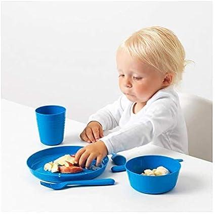 19 x 19 x 5 cm Assorted Ikea 2 X Kids Plastic Plates