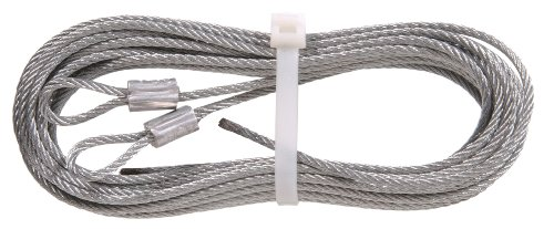 Door Garage Ideal (The Hillman Group 852127 1/8-Inch x 12-Feet Extension Spring Lift Cable)