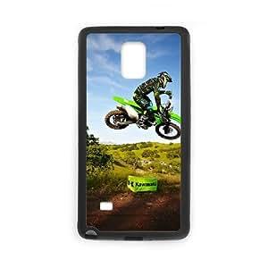 Motocross Samsung Galaxy Note 4 Cell Phone Case Black MUS9200287