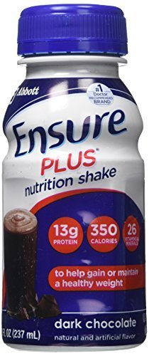 Ensure Plus Nutrition Shake Dark Chocolate - 6 CT by Ensure