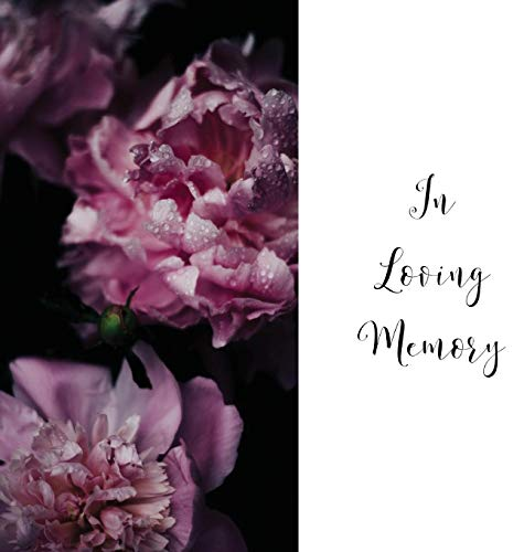 - In Loving Memory Funeral Guest Book, Celebration of Life, Wake, Loss, Memorial Service, Condolence Book, Church, Funeral Home, Thoughts and In Memory Guest Book (Hardback)