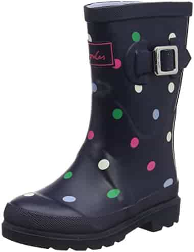 Joules Kids' Girls Printed Welly Rain Boot