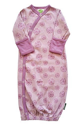 - Parade Organics Kimono Gowns - Signature Prints Lilac Dandelions 0-3 Months