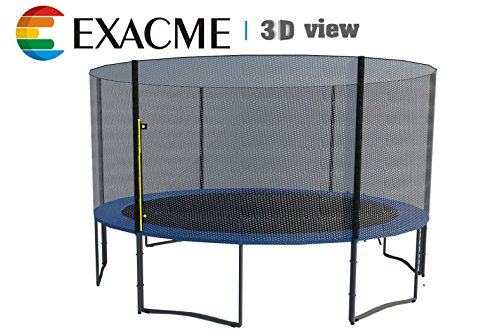 Exacme-Trampoline-with-Safety-Pad-Enclosure-Net-Ladder-All-in-One-Set-13