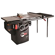 SawStop PCS175-TGP236 1.75-HP Professional Cabinet Saw Assembly with 36-Inch Professional T-Glide Fence System, Rails and Extension Table