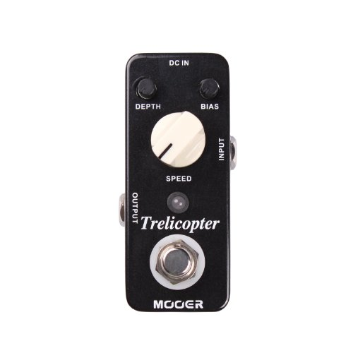Mooer Trelicopter, tremolo pedal (Optical Pedal Volume)