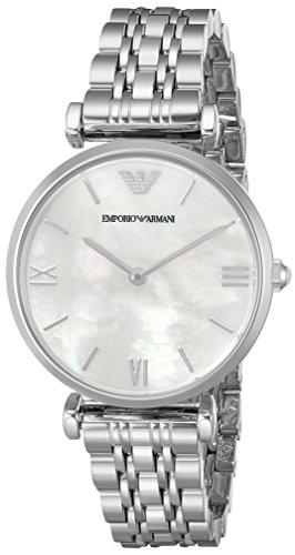 Emporio Armani Women's AR1682 Retro Silver Watch