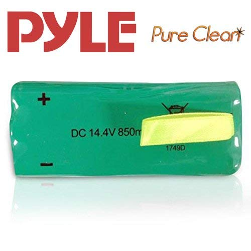 NIMH Replacement Rechargeable Battery Pack - for Pyle PUCRC25 and PUCRC26B Pure Clean Smart Vacuum Cleaners - Pyle PRTPUCRC25BAT