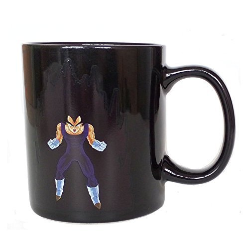 Heat Reactive Vegeta-Inspired Mug