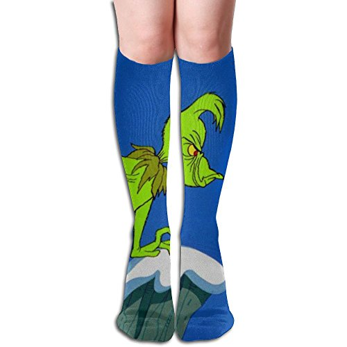 How The Grinch Stole Christmas Women Knee High Socks High Thigh Stockings Over Knee High Boots Long Socks For Girls