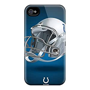 Elaney Premium Protective Hard Case For Iphone 4/4s- Nice Design - Indianapolis Colts