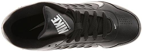 Nike Kids Boy's Land Shark 3/4 BG (Toddler/Little Kid/Big Kid) Black/Tornado/Metallic Silver  5.5 Big Kid M - Image 7