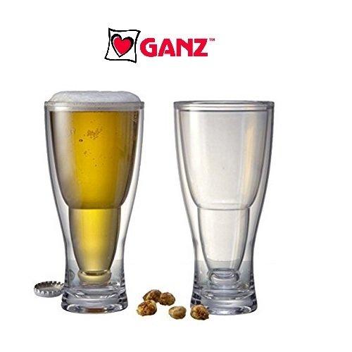 (Ganz Upside Down Beer Bottle Glass (1))